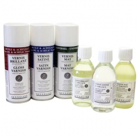 Mediums and Varnishes