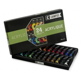 CAMPUS ACRYLIC - SET OF 24 TUBES - X21ML