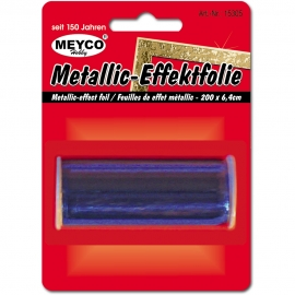METALLIC EFFECTFOIL 64MM X 200CM - BLUE