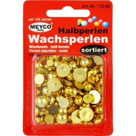 PEARLS ASSORTED - GOLD - 10GRM