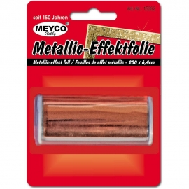 METALLIC EFFECTFOIL 64MM X 200CM - BRONZE