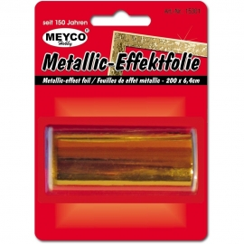 METALLIC EFFECTFOIL 64MM X 200CM - GOLD