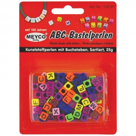 ABC LETTERS PLASTIC BEADS