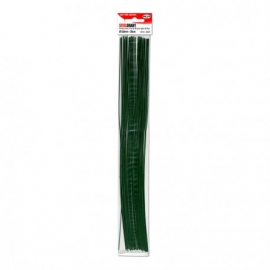 GREEN STEEL WIRE 1.2 X 30CM - 15 PCS