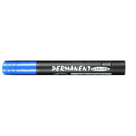 BLUE KOH-I-NOOR PERMANENT MARKER ROUND