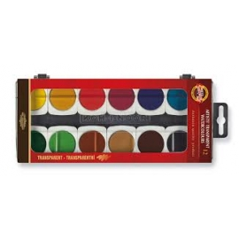 ARTIST WATER COLOUR SET X 12