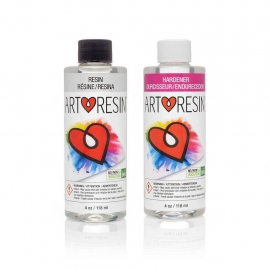 ART RESIN - 8 OZ KIT