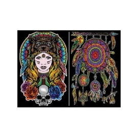 DREAM CATCHER COLORVELVET FOLDER - 36X26X1,8