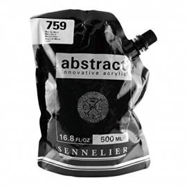 SENNELIER ABSTRACT ACRYLIC 500ML - MARS BLACK