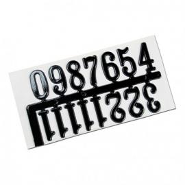MEYCO SELF ADHESIVE CLOCK NUMBERS - BLACK
