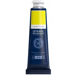 L&B FINE OIL PAINT L&B FINE OIL PAINT LEMON YELLOW - 40ML