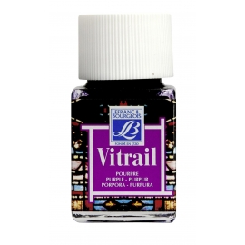 VITRAIL GLASS PAINT - PURPLE