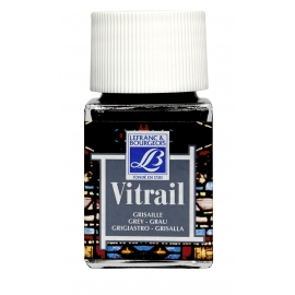 VITRAIL GLASS PAINT - GREY