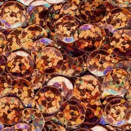 Meyco Halogramm Light Brown Sequins