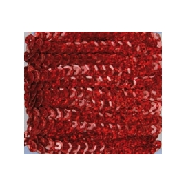 Marianne Hobby Cherry Red  Sequins Ribbon