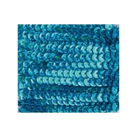 Marianne Hobby Turquoise Hologramm Sequins Ribbon
