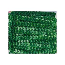 Marianne Hobby Topaz Green Hologramm Sequins Ribbon