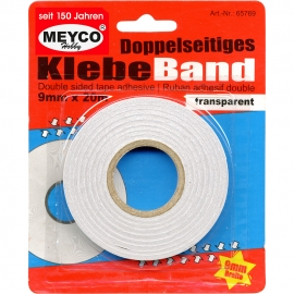 Meyco - Double Sided Tape 9mmx20m
