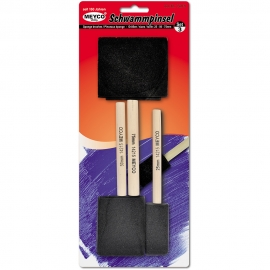 Meyco - Sponge Brushes Set x3