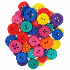 Dress It Up Buttons - Color My World