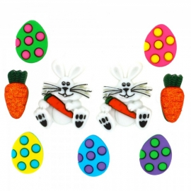 Dress It Up Buttons - Easter