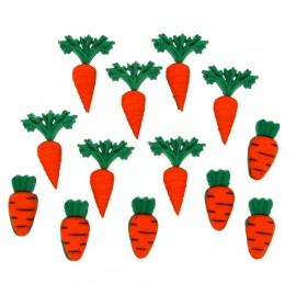 Dress It Up Buttons - Carrot Crop