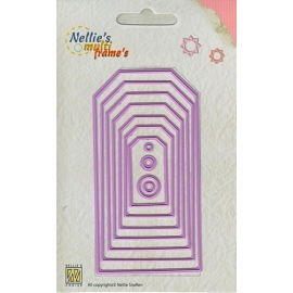 Nellie's - Multi Frame Dies - Tags 5