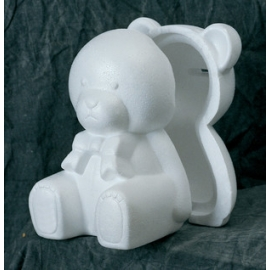Polystyrene - Bear Money Box