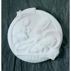 Polystyrene - Baby Jesus & Animals Frame
