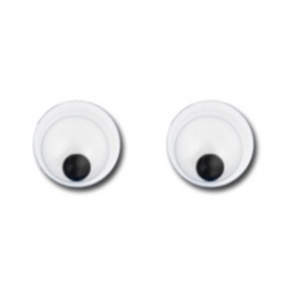 Wiggly Eyes - 3mm