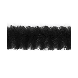 Chenille Sticks - Black
