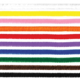Chenille Sticks - Mixed Colours