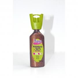 DIAMS 3D - GLITTER - GRENAT