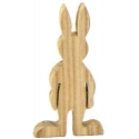 Wooden Rabbit Boy - 12cm