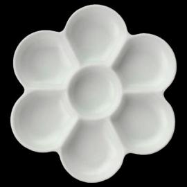 7 WELL PLASTIC FLOWER PALETTE