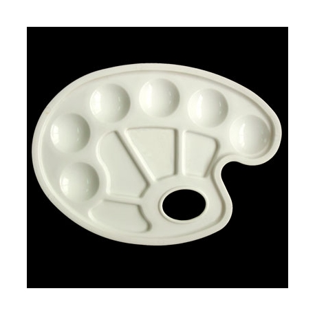 10 WELL PLASTIC OVAL PALLET