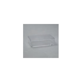 CLEAR PERSPEX BOX  - 110 X 52 X 20MM