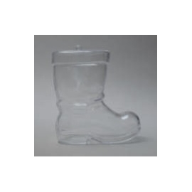 CLEAR PERSPEX BOOT - 100MM