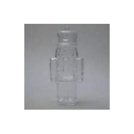 CLEAR PERSPEX NUTCRACKER - 130MM