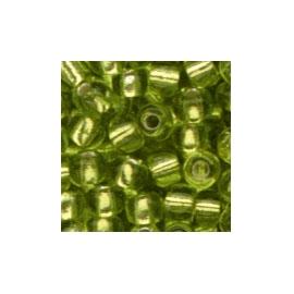 LIGHT GREEN GLASS BEADS - 2.5MM