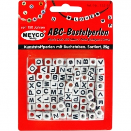 ABC PLASTIC BEADS - 25GRM