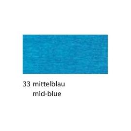 CREPE PAPER 250 X 50CM - MID BLUE