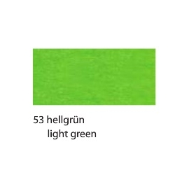CREPE PAPER 250 X 50CM - LIGHT GREEN