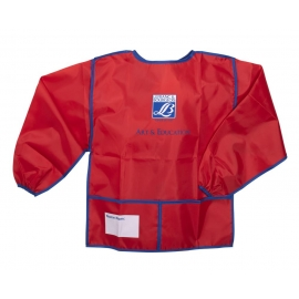 NYLON APRON WITH LONG SLEEVES - KID