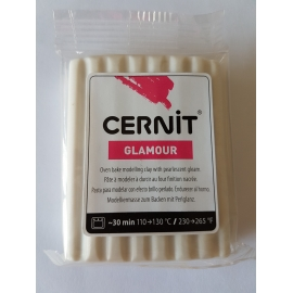 POLYMER CLAY GLAMOUR 56G - WHITE