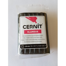 POLYMER CLAY GLAMOUR 56G - BLACK