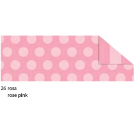 A4  DOTS & STRIPES CARDBOARD 300GRM - ROSE PINK