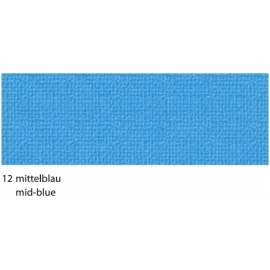A4  STRUCTURE CARDBOARD 220GRM - MID-BLUE