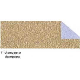 21X33CM CRUSH PAPER 120G - CHAMPAGNE