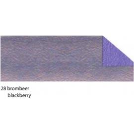 21X33CM CRUSH PAPER 120G - BLACKBERRY
